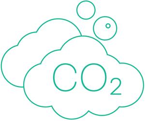Icon - Cloud CO2